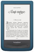 Электронная книга PocketBook 641 Aqua 2 Azure Голубой