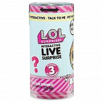Интерактивный питомец MGA Entertainment LOL Surprise Interactive Live Surprise 557166