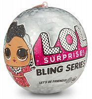 Кукла-сюрприз MGA Entertainment в шаре LOL Surprise Bling Series
